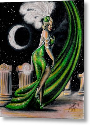 Green With Envy Metal Print by Scarlett Royal