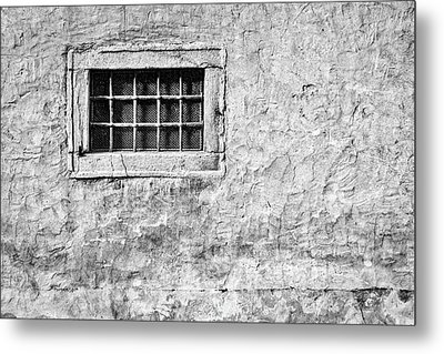 Metal Print featuring the photograph Grille In A Wall - Slovenia by Stuart Litoff