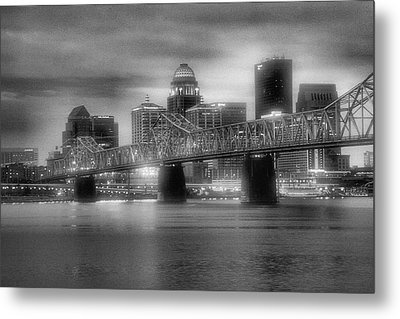 Gritty City Metal Print