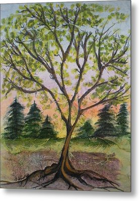 Growth Metal Print by CB Woodling