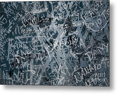 Grunge Background I Metal Print by Carlos Caetano