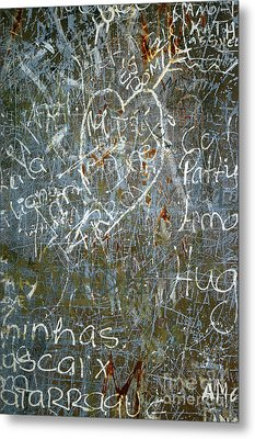Grunge Background IIi Metal Print by Carlos Caetano