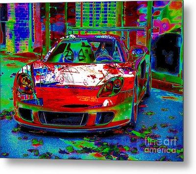 Gt Porsche Carrera Metal Print by Rogerio Mariani