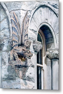 Metal Print featuring the painting Guardian Angel by Bob Nolin