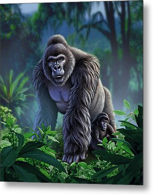 Guardian Metal Print by Jerry LoFaro