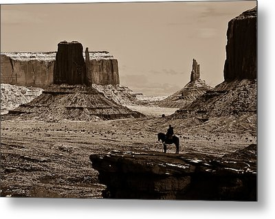Guardians Of The Valley Metal Print by E Mac MacKay