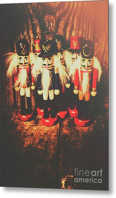 Guards Of The Toy Box Metal Print by Jorgo Photography - Wall Art Gallery