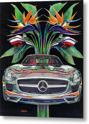 Gullwing Birds Of Paradise Metal Print by Mike Hill