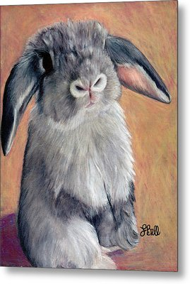 Metal Print featuring the painting Gus by Laura Bell