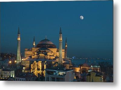 Hagia Sophia Museum Metal Print by Ayhan Altun
