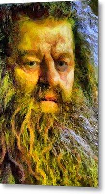 Hagrid Metal Print