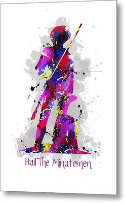 Hail The Minutemen Metal Print