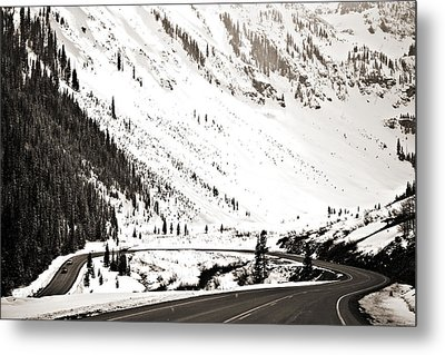 Hairpin Turn Metal Print by Marilyn Hunt