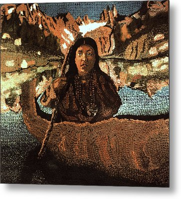 Haite Tom Tapestry Metal Print by Paul Lee