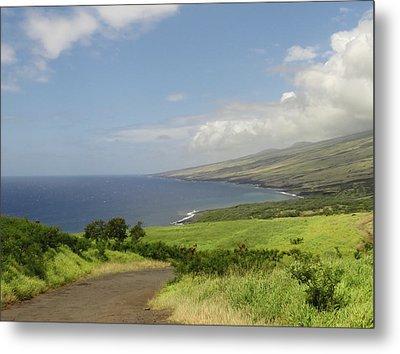 Haleakala's Dry Slope, East Maui Metal Print