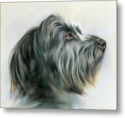 Hamish The Wolfhound Metal Print by MM Anderson