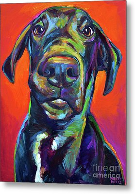 Handsome Hank Metal Print