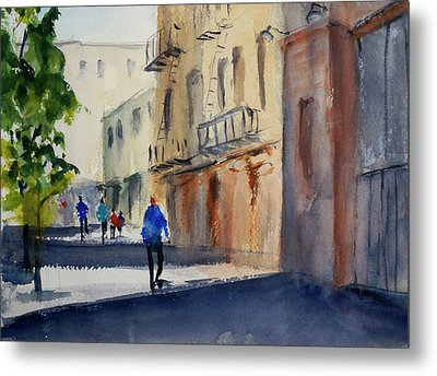 Hang Ah Alley Metal Print