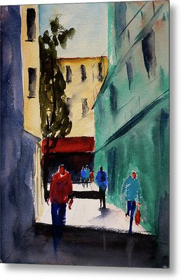 Hang Ah Alley1 Metal Print by Tom Simmons