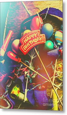 Happy Birthday Metal Print by Jorgo Photography - Wall Art Gallery