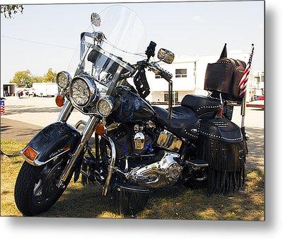 Harley Classic Metal Print by Elizabeth Chevalier