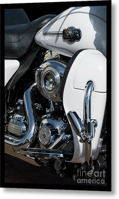Metal Print featuring the photograph Harley Davidson 15 by Wendy Wilton
