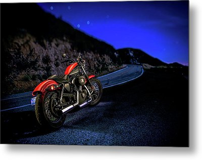 Metal Print featuring the photograph Harley Davidson Nightster by YoPedro