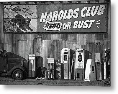 Harold's Club Metal Print