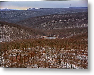 Harriman State Park From At Metal Print by Raymond Salani III