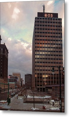 Harrison And Warren Streets Metal Print by Debra Millet