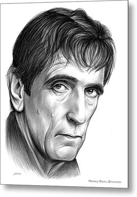 Harry Dean Stanton Metal Print