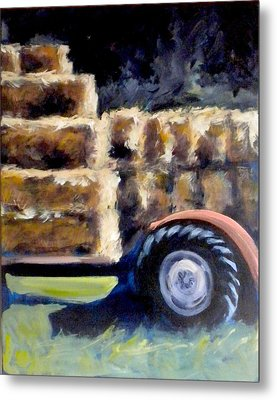Harvest Metal Print by Paula Strother