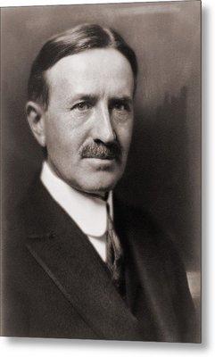 Harvey Firestone 1868-1938, Founded Metal Print
