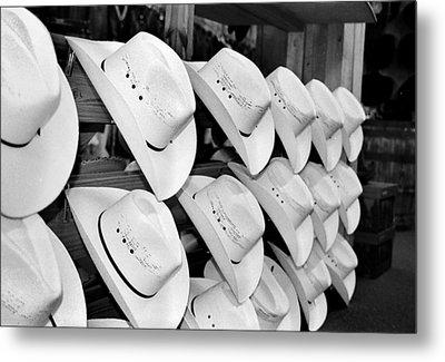 Hat And Boot Store Nashville Tn Metal Print by Joseph Mari