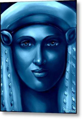 Hathor -the Goddess 2 Metal Print