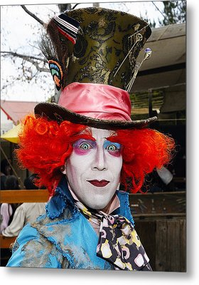 Hatter Metal Print by Clarence Alford