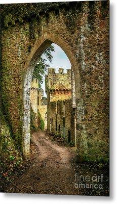 Haunted Castle Metal Print by Adrian Evans