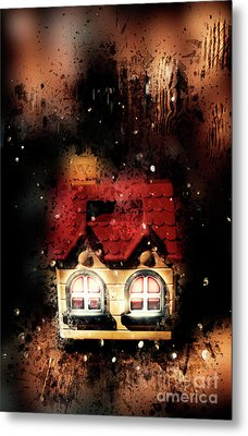 Haunted Doll House Metal Print by Jorgo Photography - Wall Art Gallery