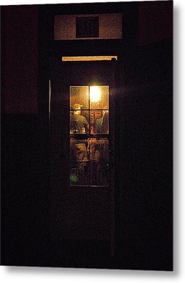 Haunted House 4 Metal Print by William Horden