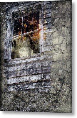 Haunted Impressions Metal Print by Nadine Berg