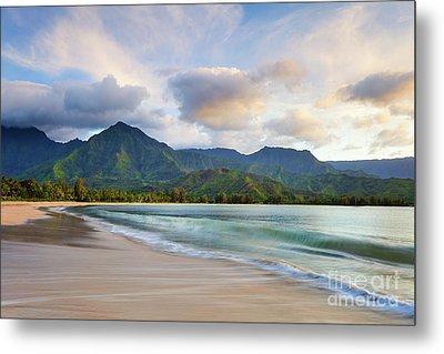 Hawaii Hanalei Dreams Metal Print by Monica and Michael Sweet