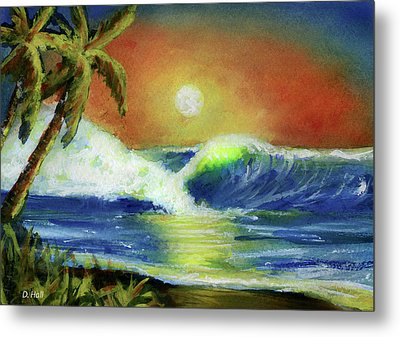 Hawaiian Moon #399 Metal Print by Donald k Hall