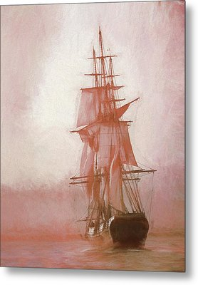 Metal Print featuring the photograph Heading To Salem From The Sea by Jeff Folger