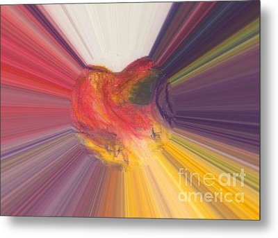 Heart Beats Metal Print by Vicki Lynn Sodora