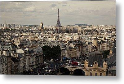 Heart Of City, Paris Metal Print