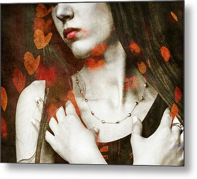 Heart Of Gold Metal Print by Paul Lovering