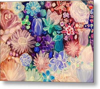 Heavenly Garden Metal Print