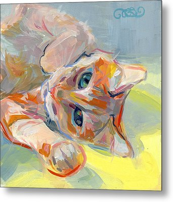 Hello Kitty Metal Print by Kimberly Santini