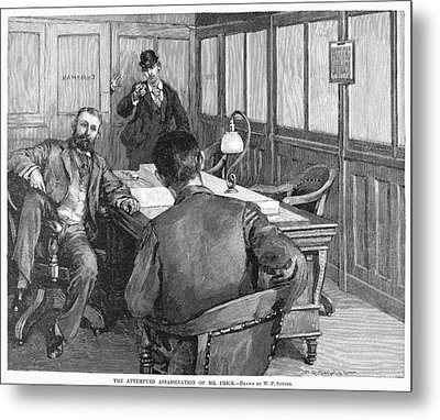 Henry Clay Frick  (1849-1919) Metal Print by Granger