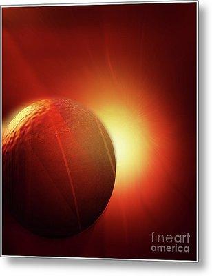 Here Comes The Sun Metal Print by John Krakora